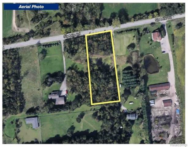 0000 Six Mile Road, Salem Twp, MI 48167 (#218099370) :: The Buckley Jolley Real Estate Team