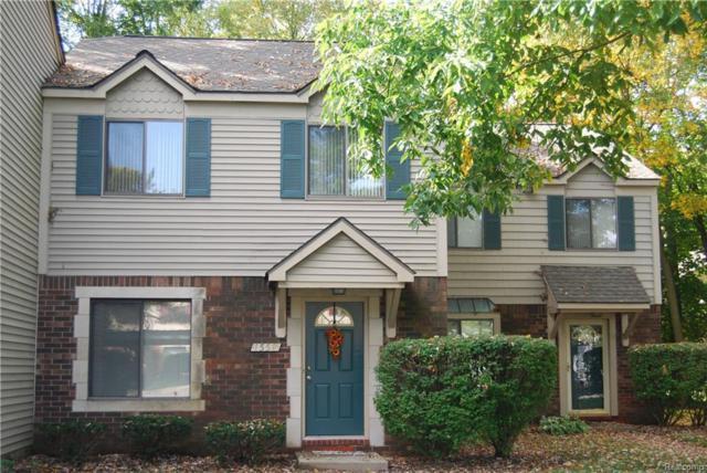 1558 Streamwood Court, Rochester Hills, MI 48309 (#218099516) :: Keller Williams West Bloomfield