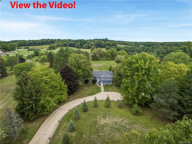 4900 Valentine Road, Webster Twp, MI 48189 (#218099616) :: The Buckley Jolley Real Estate Team