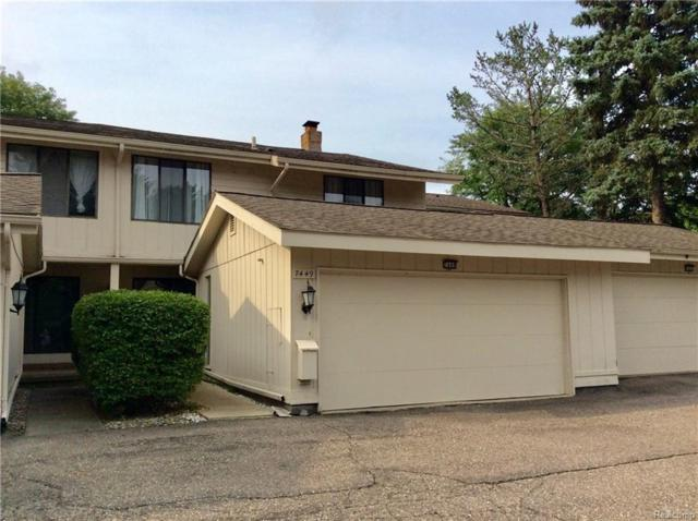7449 Pebble Point, West Bloomfield Twp, MI 48322 (#218100263) :: RE/MAX Classic