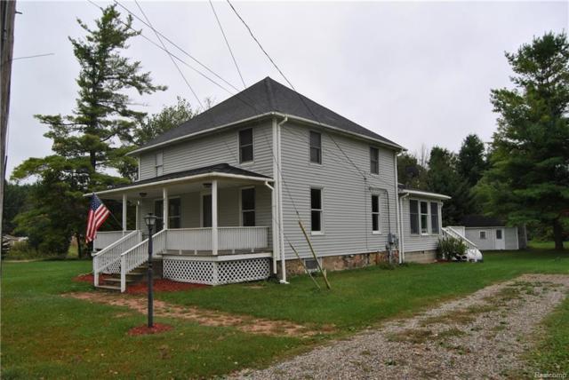 635 W Barnes Lake Road, Deerfield Twp, MI 48421 (#218100604) :: The Buckley Jolley Real Estate Team