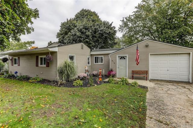 914 Henderson Avenue, Waterford Twp, MI 48328 (#218100904) :: RE/MAX Classic
