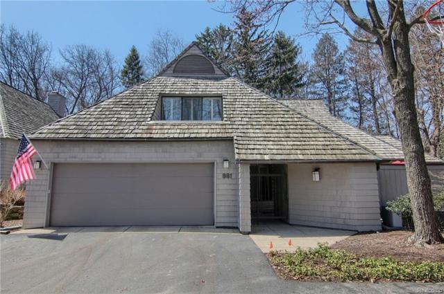 981 Bloomfield Woods, Bloomfield Hills, MI 48304 (#218100978) :: Duneske Real Estate Advisors