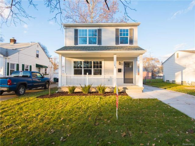 23344 Hazelwood Avenue, Hazel Park, MI 48030 (#218101152) :: RE/MAX Classic