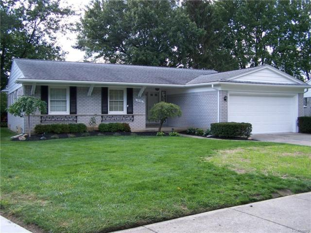 15151 Amber Court, Plymouth Twp, MI 48170 (#218101826) :: RE/MAX Classic