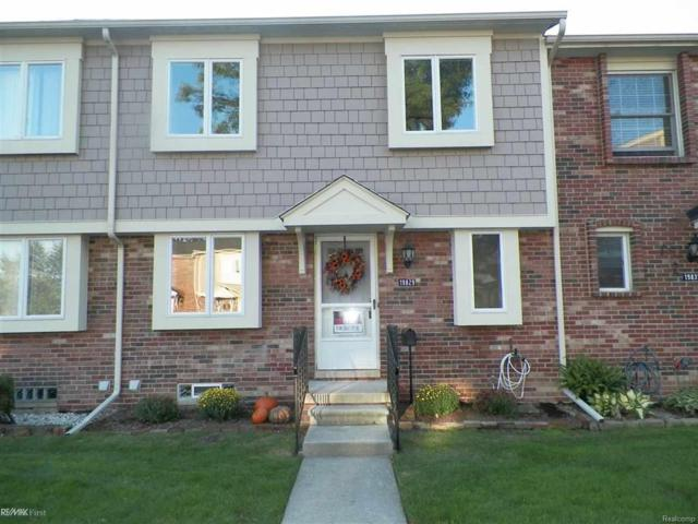 19829 Great Oaks Circle North #350, Clinton Twp, MI 48036 (#58031363119) :: Keller Williams West Bloomfield