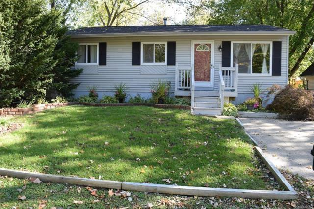 1616 Lookout Drive, Wolverine Lake Vlg, MI 48390 (#218102189) :: RE/MAX Classic