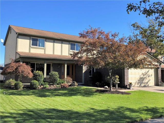 7640 W Claymore Court, Canton Twp, MI 48187 (#218102350) :: RE/MAX Classic