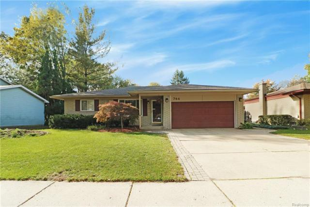 744 Foothill Drive, Canton Twp, MI 48188 (#218102516) :: RE/MAX Classic
