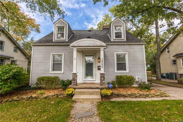 1260 Albany Street, Ferndale, MI 48220 (#218102542) :: RE/MAX Vision