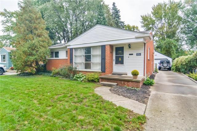 1014 Englewood Avenue, Royal Oak, MI 48073 (#218102615) :: Keller Williams West Bloomfield