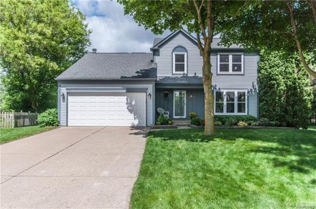 2711 Leewood Circle, Orion Twp, MI 48360 (#218104626) :: Keller Williams West Bloomfield