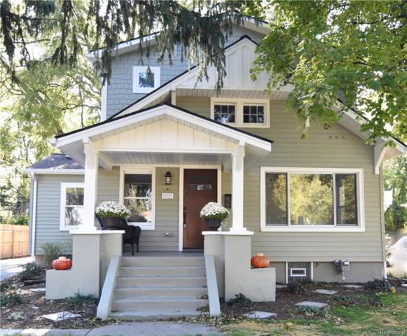 13349 Borgman Avenue, Huntington Woods, MI 48070 (#218104967) :: Keller Williams West Bloomfield