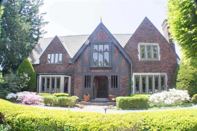 77 Oxford Road, Grosse Pointe Shores Vlg, MI 48236 (#58031364962) :: Duneske Real Estate Advisors