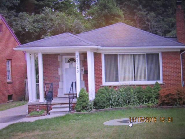 22920 Outer Drive, Dearborn, MI 48124 (#218110597) :: RE/MAX Classic