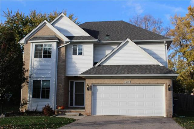 165 Eastlawn Drive, Rochester Hills, MI 48307 (#218110649) :: The Mulvihill Group