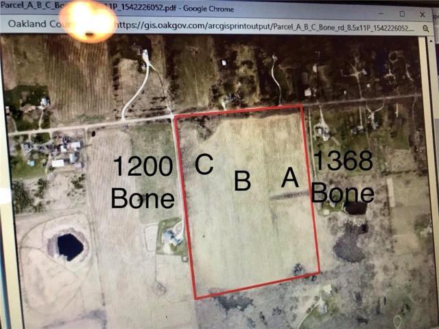 Lot 40 Bone Rd, Rose Twp, MI 48430 (#218110783) :: RE/MAX Classic