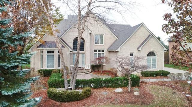 3862 Teakwood Lane, Rochester Hills, MI 48309 (#218111164) :: The Alex Nugent Team | Real Estate One