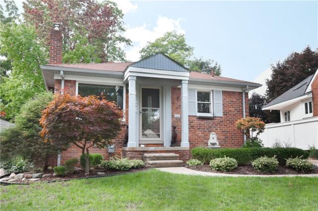 4423 Elmwood Avenue, Royal Oak, MI 48073 (#218112018) :: The Alex Nugent Team   Real Estate One