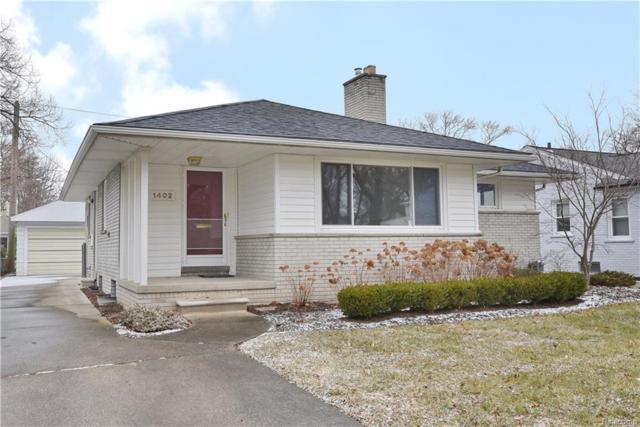 1402 Lyons Avenue, Royal Oak, MI 48073 (#218119428) :: The Alex Nugent Team | Real Estate One