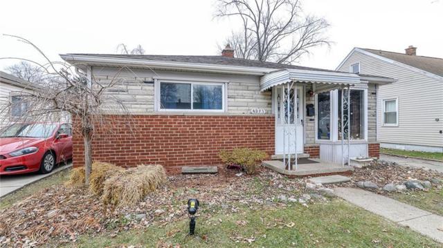 4973 Polk Street, Dearborn Heights, MI 48125 (#218120102) :: RE/MAX Nexus