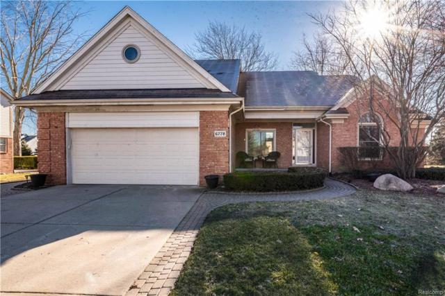 6778 Baytree Court, Shelby Twp, MI 48316 (#219002426) :: The Alex Nugent Team   Real Estate One