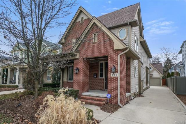 883 Smith Avenue, Birmingham, MI 48009 (#219005433) :: RE/MAX Classic