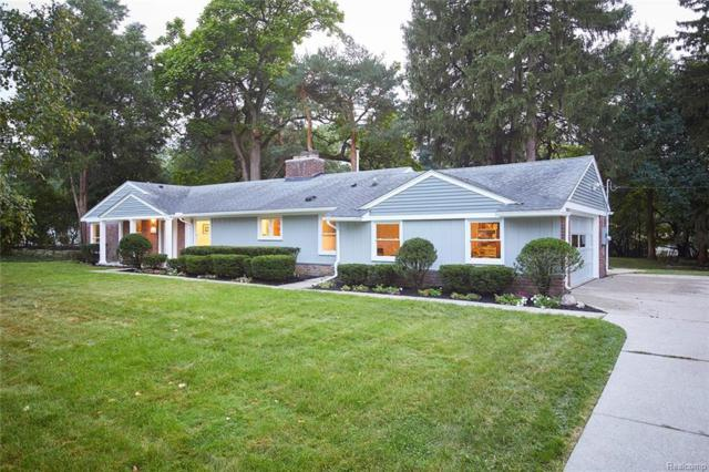 2554 Mcclintock Road, Bloomfield Twp, MI 48302 (#219005600) :: RE/MAX Classic