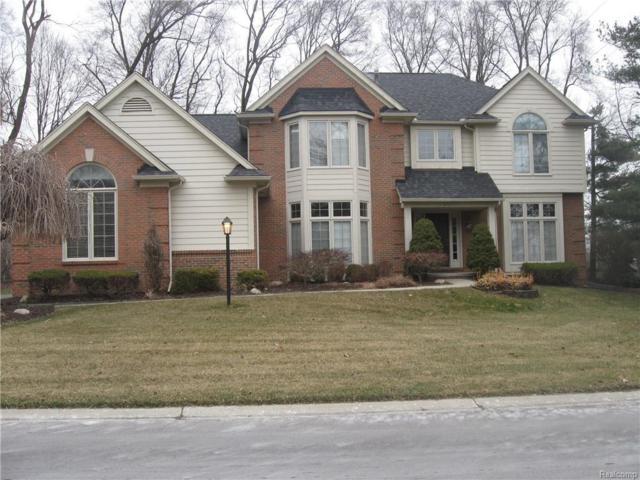 39762 Woodside Drive S, Northville Twp, MI 48168 (#219005800) :: Duneske Real Estate Advisors