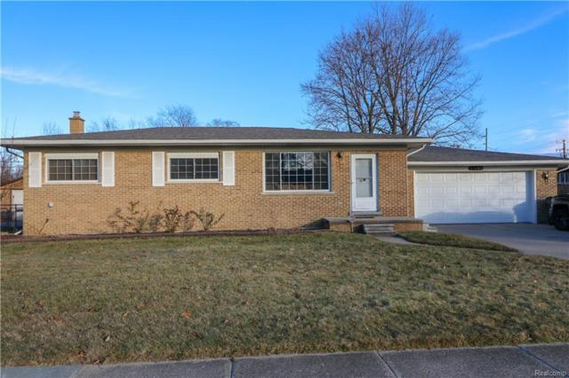51040 Fairlane Drive, Shelby Twp, MI 48316 (#219005973) :: The Alex Nugent Team   Real Estate One