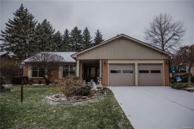 882 Dahlia Lane, Rochester Hills, MI 48307 (#219006401) :: The Alex Nugent Team | Real Estate One