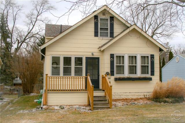 147 Lysander Street, Rochester, MI 48307 (#219006650) :: The Alex Nugent Team | Real Estate One