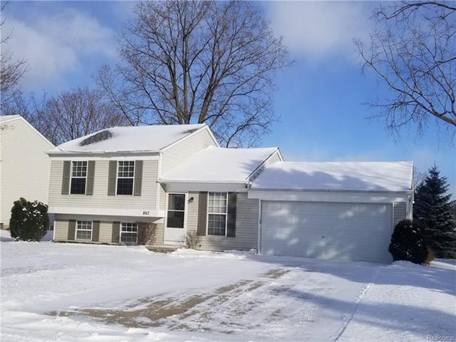 867 Hadley Road N, Rochester Hills, MI 48307 (#219006664) :: The Alex Nugent Team | Real Estate One
