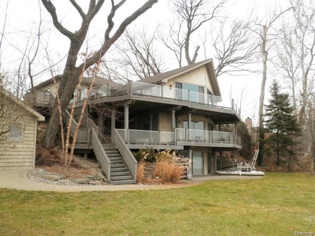 11321 N Shore Drive, Green Oak Twp, MI 48189 (#219006750) :: The Buckley Jolley Real Estate Team