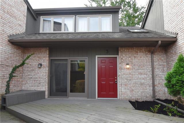 41350 Woodward Avenue #3, Bloomfield Hills, MI 48304 (#219007389) :: RE/MAX Classic