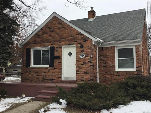 358 Charlevoix Street, Clawson, MI 48017 (#219007788) :: Alan Brown Group
