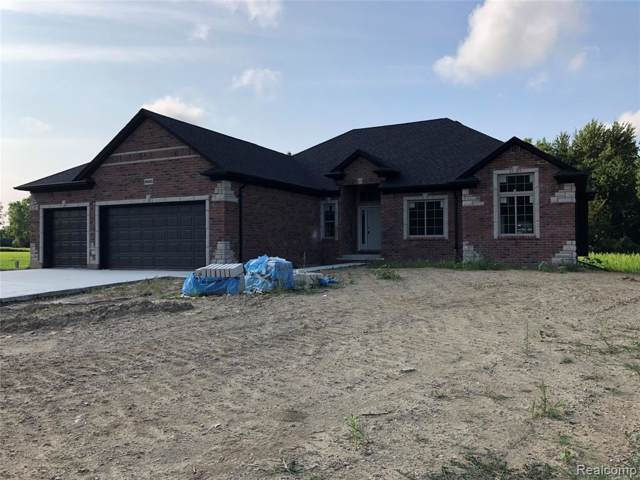 8520 Almont Road, Almont Twp, MI 48003 (#219008016) :: The Buckley Jolley Real Estate Team