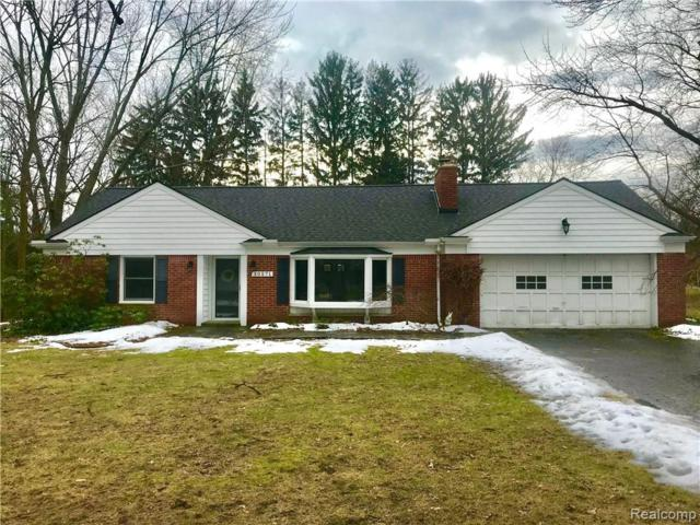 30571 N Greenbriar Road, Franklin Vlg, MI 48025 (#219010406) :: RE/MAX Classic