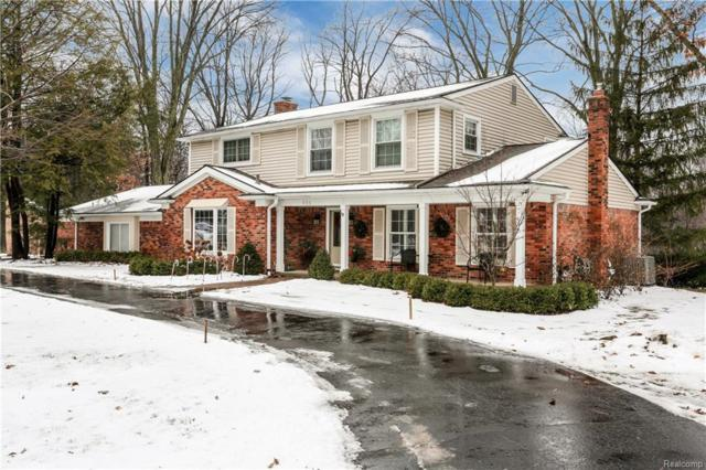 551 Whitehall Road, Bloomfield Hills, MI 48304 (#219010522) :: Keller Williams West Bloomfield