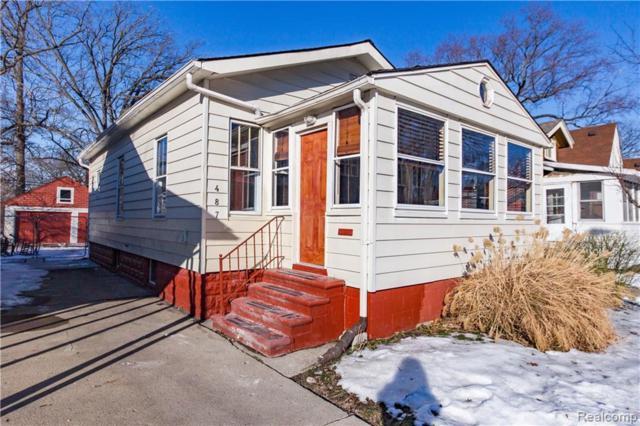 487 E Woodland Street, Ferndale, MI 48220 (#219010912) :: NERG Real Estate Experts
