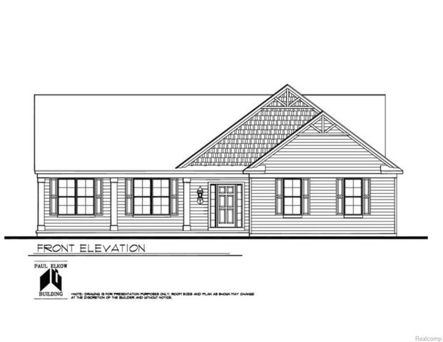 LOT 1 Woodchuck Lane, Lyon Twp, MI 48165 (#219011294) :: RE/MAX Classic
