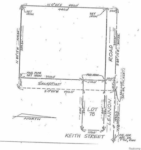 0 Lennon Road, Flint Twp, MI 48507 (#219011454) :: The Buckley Jolley Real Estate Team