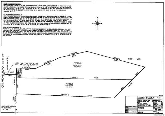 00 Oklahoma Blvd Parcel B, Waterford Twp, MI 48327 (#219011595) :: RE/MAX Classic
