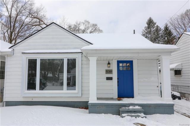 539 Edgewood Place, Ferndale, MI 48220 (#219011694) :: NERG Real Estate Experts