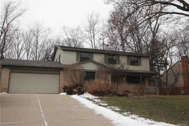 6098 Pinecroft Drive, West Bloomfield Twp, MI 48322 (#219011927) :: RE/MAX Classic