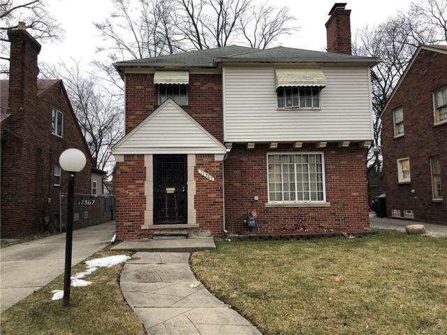 17367 Huntington Road, Detroit, MI 48219 (#219011971) :: Alan Brown Group
