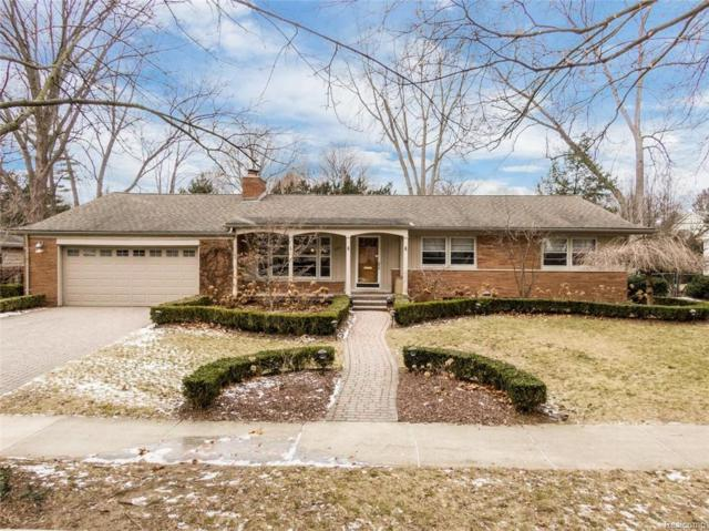 590 Wellesley Street, Birmingham, MI 48009 (#219012154) :: The Mulvihill Group