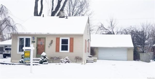 574 Gardner Avenue, Clawson, MI 48017 (#219012555) :: Alan Brown Group