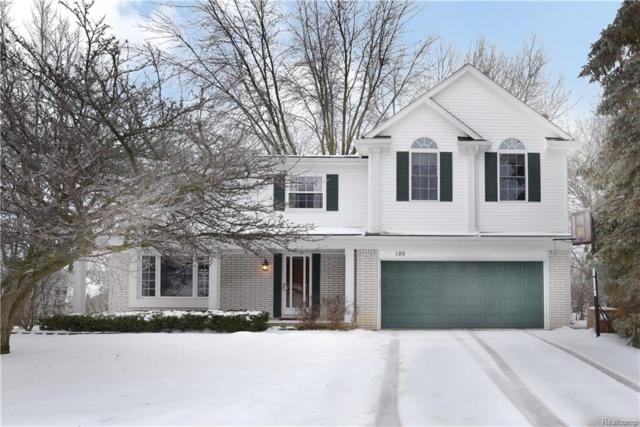 186 Randall Drive, Troy, MI 48085 (#219012577) :: Keller Williams West Bloomfield