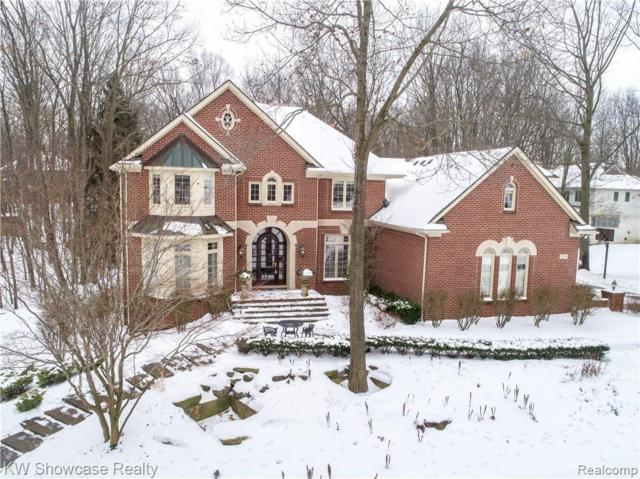 1722 S Hidden Valley Drive E, Milford Twp, MI 48380 (#219012869) :: The Mulvihill Group